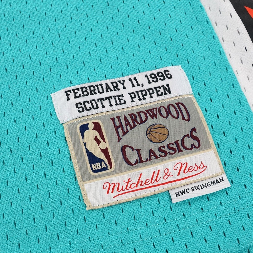 bb6df957b Amazon.com   Mitchell   Ness Scottie Pippen NBA Teal 1996 NBA All Star East  Jersey For Men   Sports   Outdoors