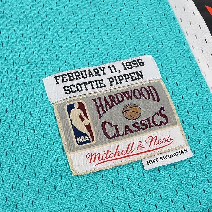 d26d8d5c2 Amazon.com   Mitchell   Ness Scottie Pippen NBA Teal 1996 NBA All Star East  Jersey For Men   Sports   Outdoors