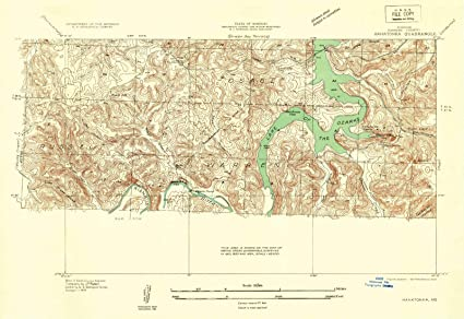 Amazon.com: Missouri Maps | 1934 Hahatonka, MO USGS Historical ...