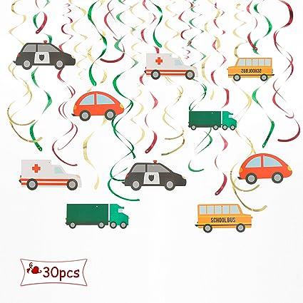 Amazon.com: ALEY Cars - Adornos colgantes de espiral ...