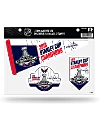 Rico Industries NHL Washington Capitals 2018 Stanley Cup Champions Die Cut  Team Magnet Set Sheet 9f57b57bffb