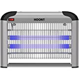 Hoont Powerful Electric Indoor Fly Zapper and Bug Zapper Trap Catcher Killer – Covers 6,000 Sq. Ft / Bug and Fly Killer, Mosquito Killer Insect Killer – For Residential and Commercial Use [UPGRADED]