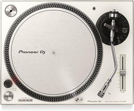 Pioneer PLX-500 Direct drive DJ turntable Blanco: Amazon.es ...