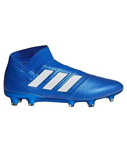 newest a4ada e1303 adidas Nemeziz 18+ Fg, Scarpe da Calcio Uomo, Blu FtwwhtFooblu,