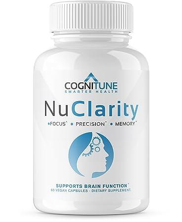 Amazon Com Nuclarity Premium Natural Nootropic Brain Supplement