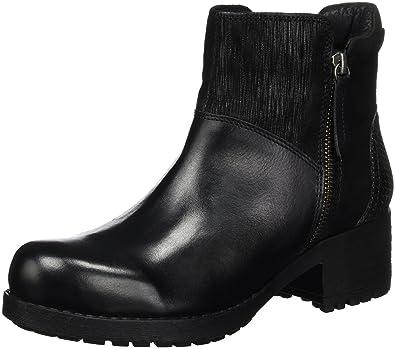 Black Stiefelette, Zapatillas de Estar por Casa para Mujer, Negro (000 Black), 38 EU