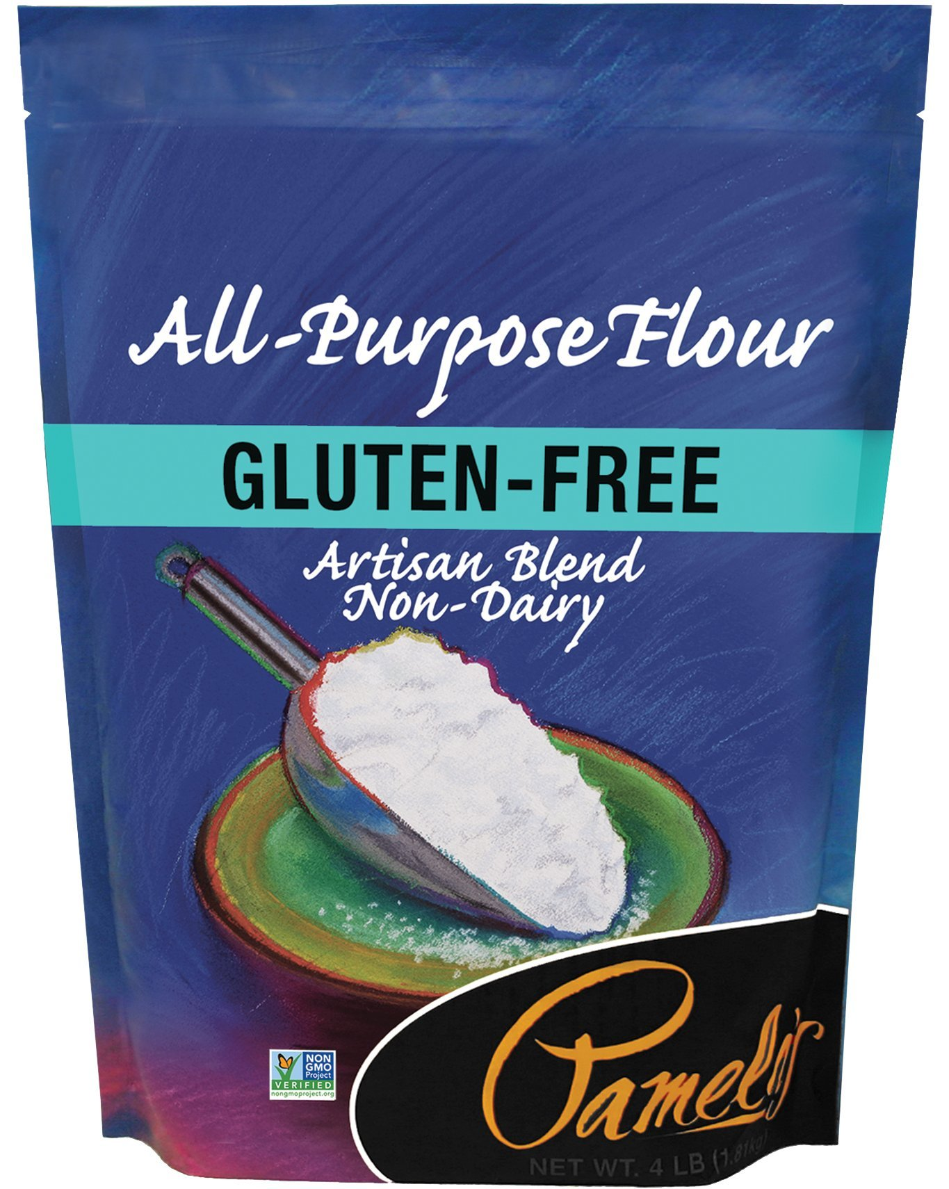 Pamela's Products Gluten Free All Purpose Flour Blend, 4 Pound