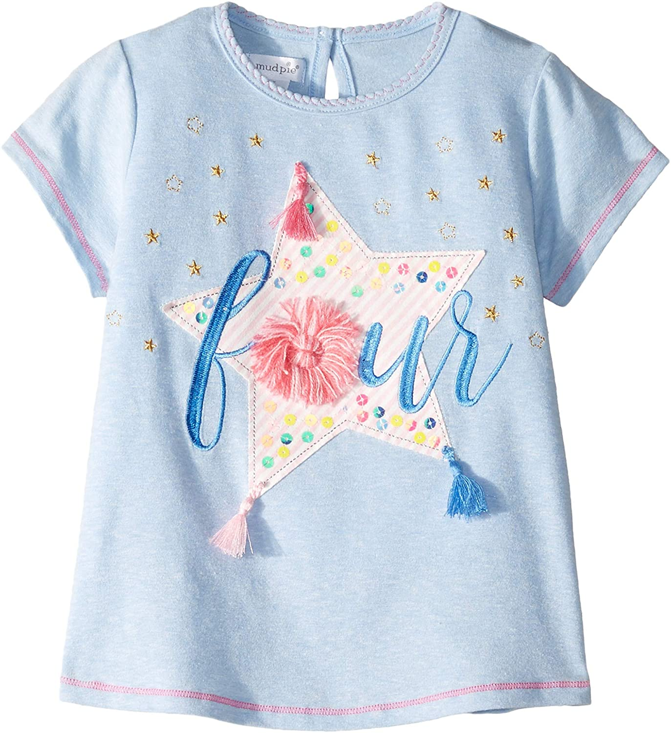 Mud Pie Kids Girls Birthday Tees