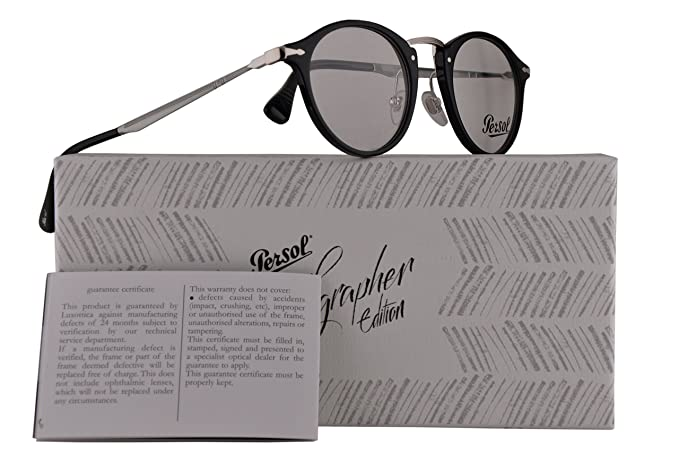 Image Unavailable. Image not available for. Color  Persol PO3167V  Calligrapher Edition Eyeglasses ... b57e49601867