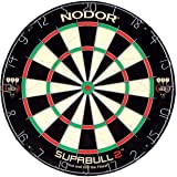 Nodor SupaBull2 Bristle Dartboard Equipped with