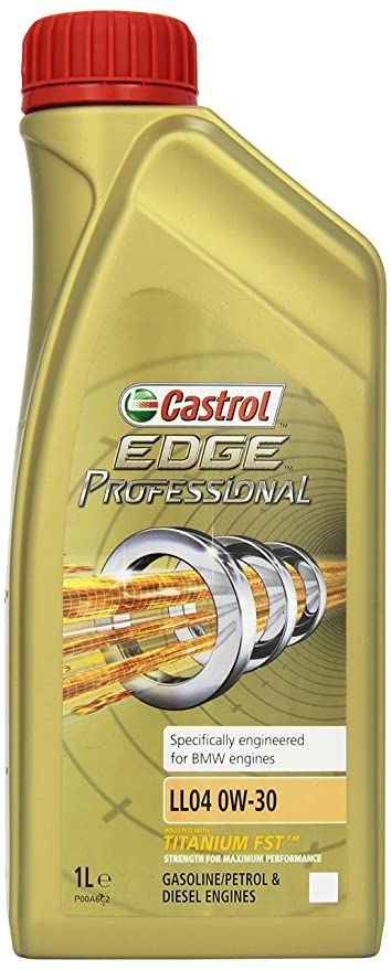 Castrol EDGE Professional BMW LL04 0W-30 Aceite de Motores, 1L