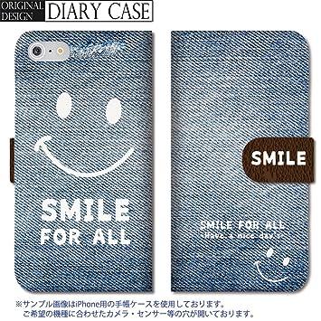 32cdd21765 301-sanmaruichi- iPhoneSE ケース iPhone5s ケース iPhone5 ケース 手帳型 おしゃれ スマイル にこ