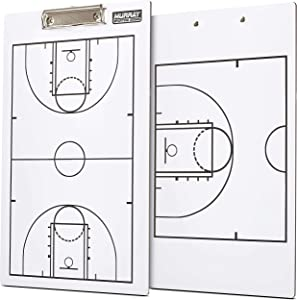 Murray Sporting Goods Dry Erase Double-Sided Basketball Coaches Clipboard