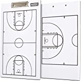 Murray Sporting Goods Dry-Erase Double Sided Basketball Coaches Clipboard