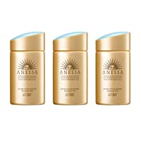 Shiseido ANESSA Perfect UV Sunscreen Skincare Milk A SPF50+ PA++++ 60ml (3pc set)