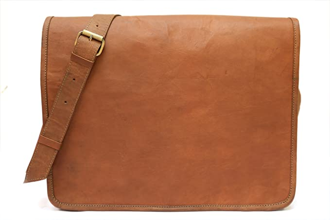 Image Unavailable. Image not available for. Colour  Hukart Leather  Messenger Bag for Men Leather Laptop ... f50052d234517