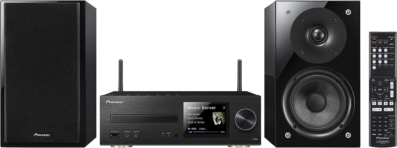 Pioneer X-HM82-S - Microcadena de 50W (estéreo), plateado: Amazon.es: Electrónica