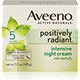 Aveeno Positively Radiant Intensive Night Cream With Vitamin B3, 1.7 oz.