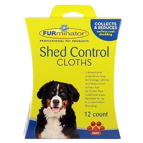 Furminator caseta de Perro Control paños, 12-Count