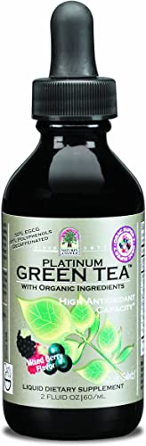 Nature's Answer Green Tea with Orac Berry Flavor, 2-Fluid Ounces