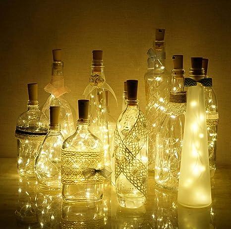 10//20LED Bottle Light Corks LED Lights Wine Bottle Light Christmas Decor