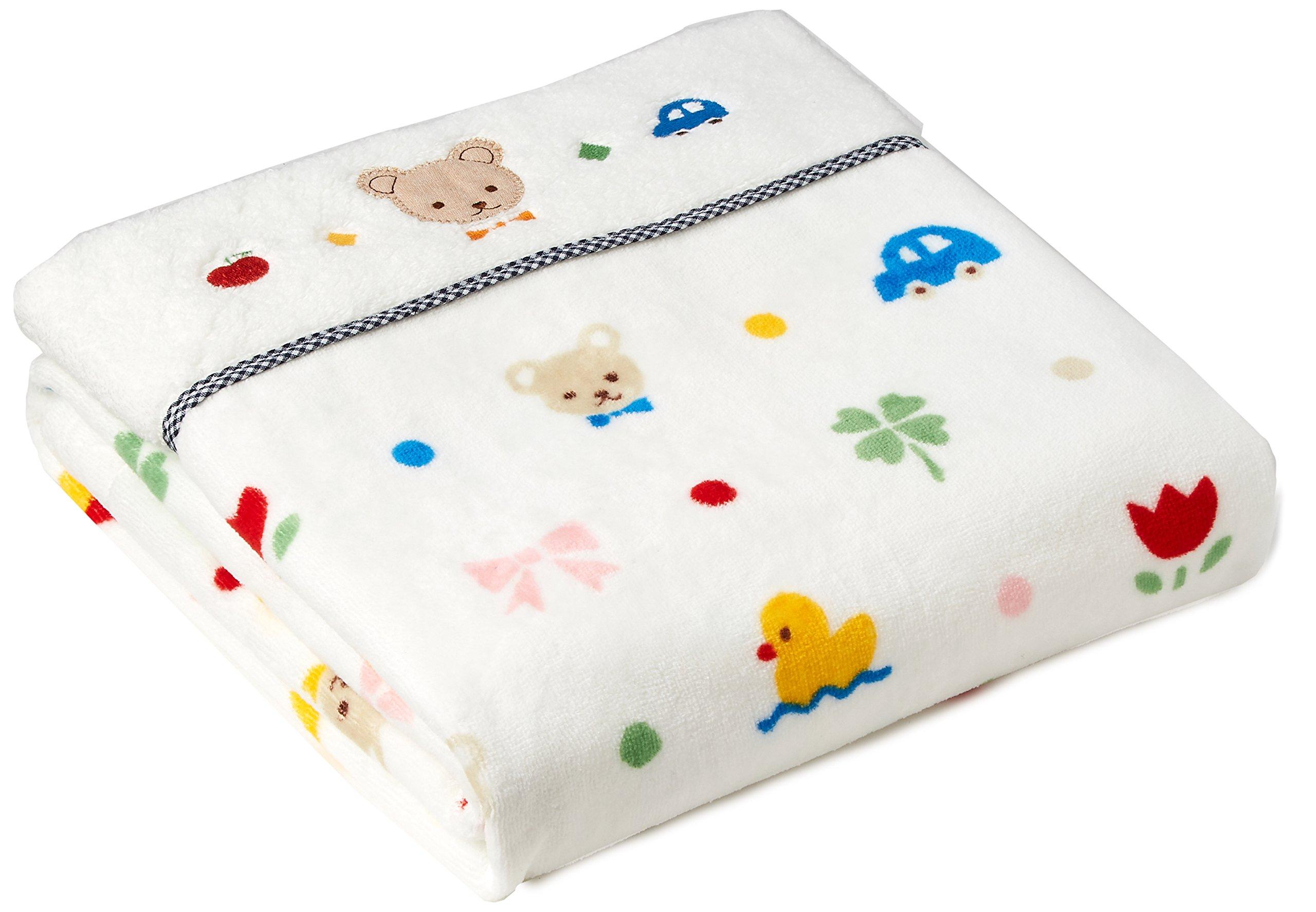 Nishikawa Sangyo babypuff Washable Series! Towel White LFY4801024-W LP9020 by Nishikawa industry