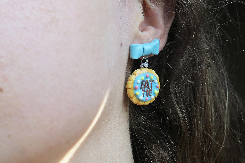 Alice im Wunderland Cookie Ohrringe verschiedene Stile - essen Sie ...