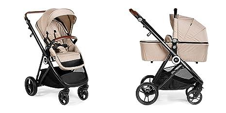 Carro Cochecito Mommy 2 piezas - Innovaciones MS - Silla + Capazo (Beige)