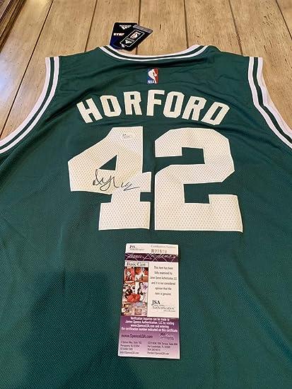 f325e6322 Al Horford Autographed Signed Memorabilia Jersey JSA Coa Boston Celtics at Amazon s  Sports Collectibles Store