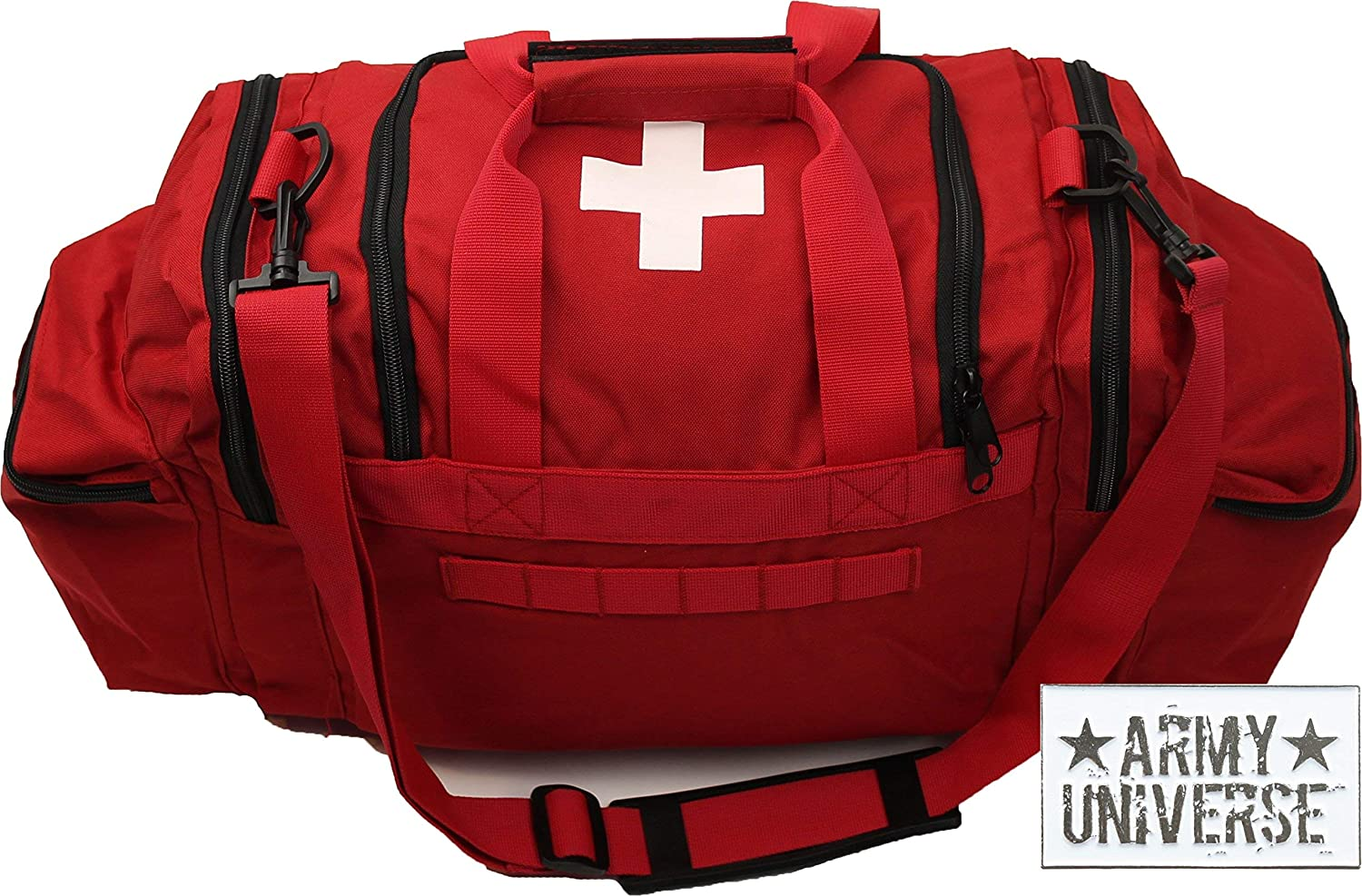 Amazon.com   Army Universe Red EMT EMS White Cross Starter Beginners Trauma  Field Medics Carry Shoulder Bag Pin   Sports   Outdoors c9fd0546200
