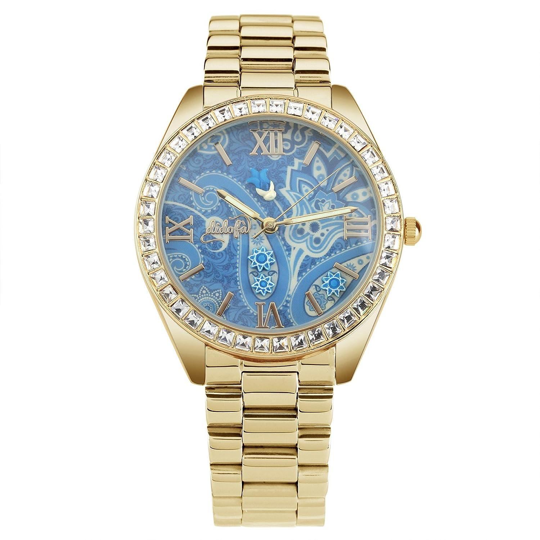 DidofÀ 3D Damen-Armbanduhr Analog Quarz DF-1004G