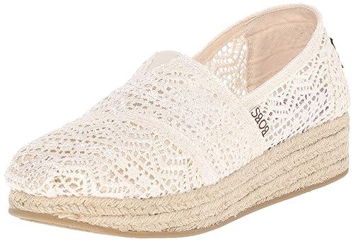 Amazon Amaze Donna Skechers Marrone Scarpa 37 nat Highlights Pqcg6cwp