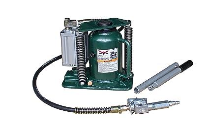 Strong Hold 61207 - Gato hidráulico para botella (20 toneladas), color verde