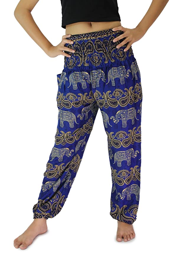 Bangkokpants Pantalones de harén para Mujer Ropa de Yoga ...