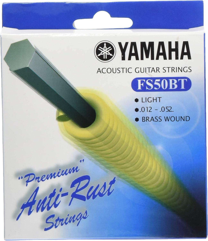 Yamaha FS50BT - Juego de cuerdas para guitarra acústica: Amazon.es ...