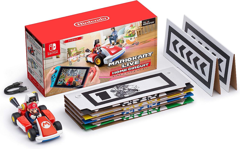 Amazon   マリオカート ライブ ホームサーキット マリオセット   ゲーム