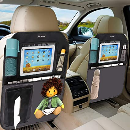 Drivaid 2 Pezzi Protezione Sedile Auto Bambini, Impermeabile