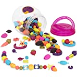 B.eauty Pops Pop Arty Crafts Toy Snap Beads for Jewelry Making (150 pieces)
