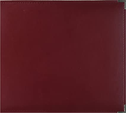 """Brown We R Memory Keepers Leather 6""""x12"""" 3 D-Ring Album"""