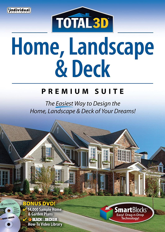 amazon com total 3d home landscape and deck premium suite 12