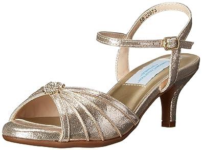 47b65fb85f Amazon.com | Dyeables Women's Kelsey Dress Sandal | Heeled Sandals