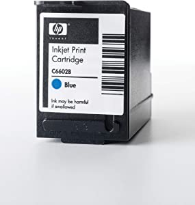 HP Blue Reduced Height Original Ink Cartridge (C6602B)
