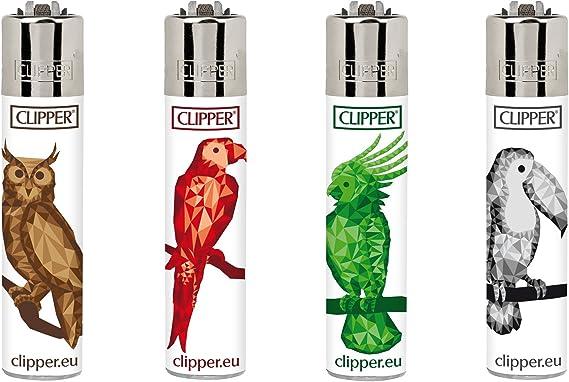 Clipper 24, Geométrico pájaros – Mini colección, pack de 4 ...