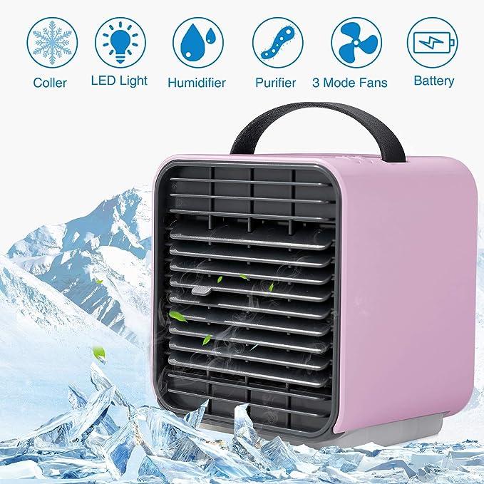 NOTONEON Ventilador de Aire Acondicionado portátil, refrigerador ...