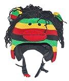 Ski Helmet Cover Rasta Monkey