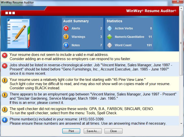 amazoncom winway resume deluxe 14 download software