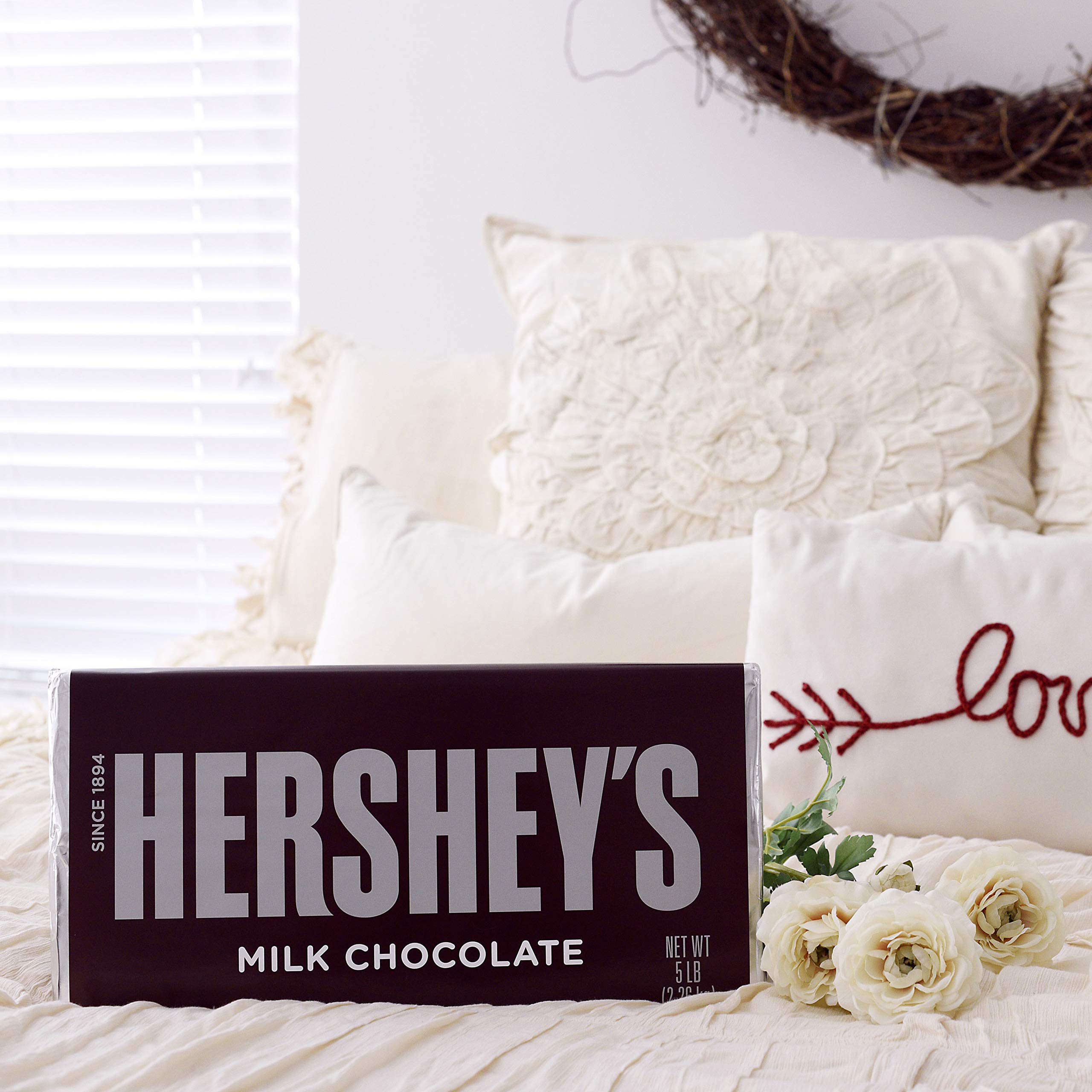 HERSHEY'S 5 Pound Chocolate Candy Bar Gift by HERSHEY'S (Image #8)