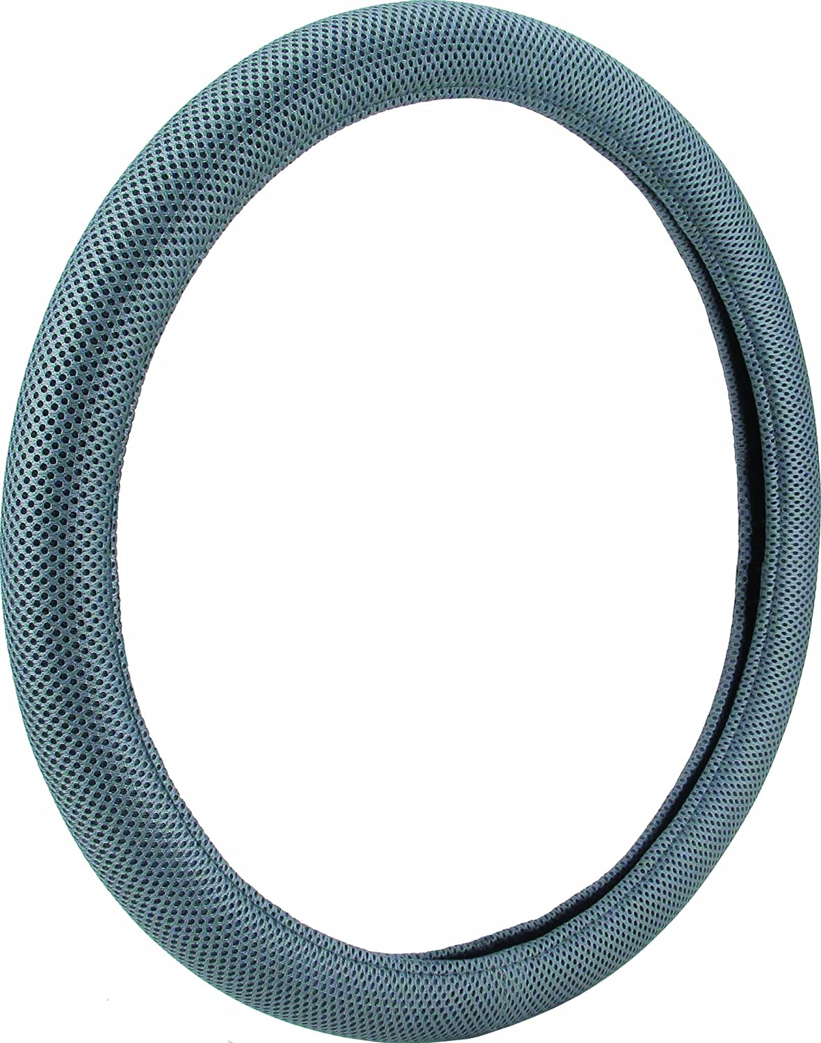 Bell Automotive 22-1-52823-1 Universal Smooth Grips Mesh Steering Wheel Cover Gray