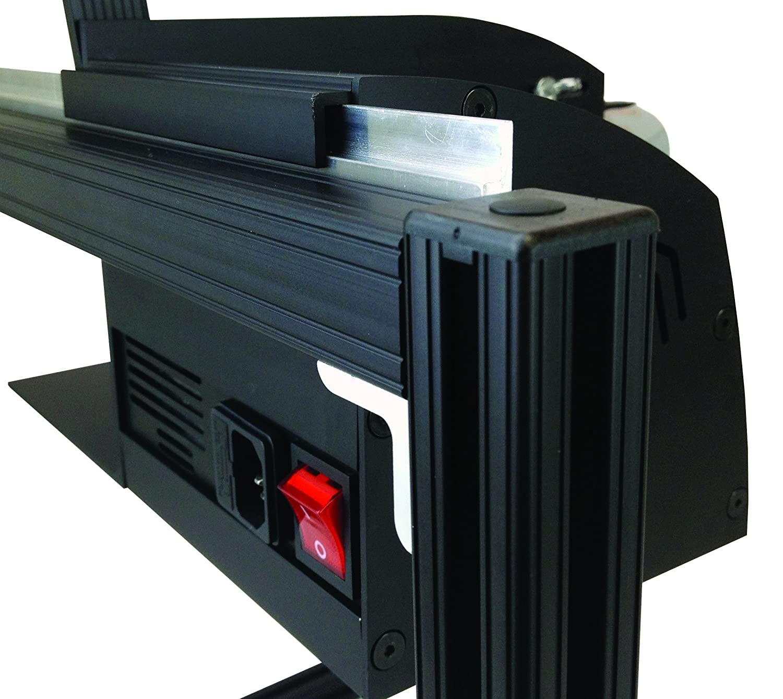 START International LD6050-2EU Dispensador de Etiquetas Eléctrico de Alta Velocidad, Ancho Máximo de 121 mm, Longitud máxima de 152 mm, Negro: Amazon.es: ...