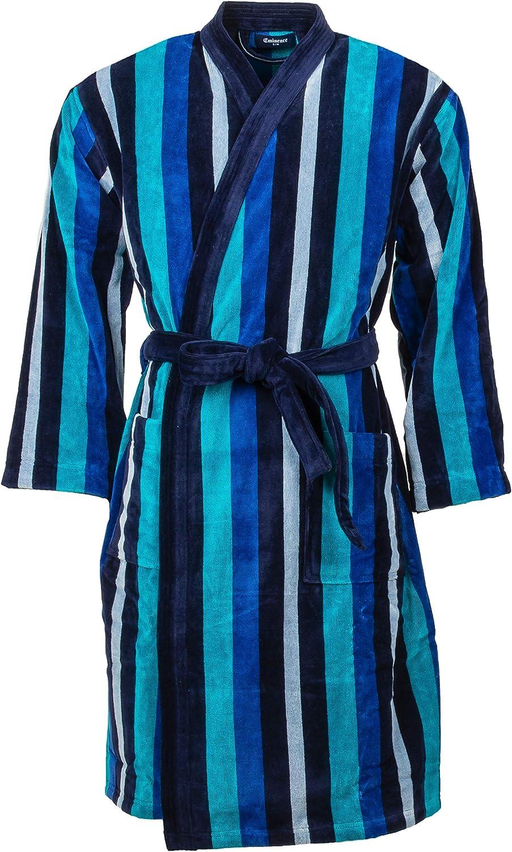 Eminence Pyjama Long boutonn/é Homme cha/îne et Trame Heritage